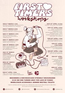 First Timers Workshops