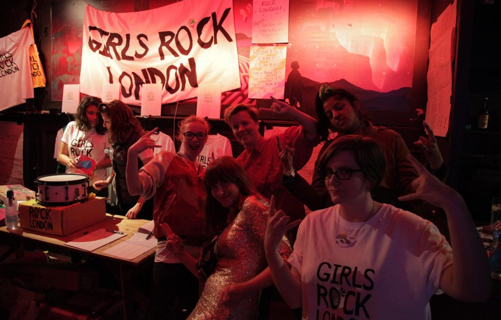 Girls Rock London Stall